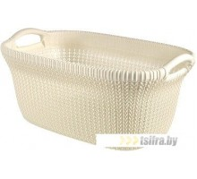 Корзина Keter Knit Laundry Basket OASWHT STD 40L (белый)