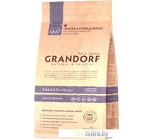 Корм для кошек Grandorf Rabbit&Rice Adult Sterilized 0.4 кг