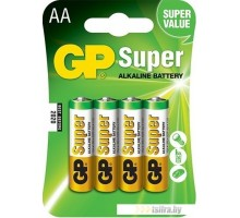 Батарейки GP Super Alkaline AA 4 шт.